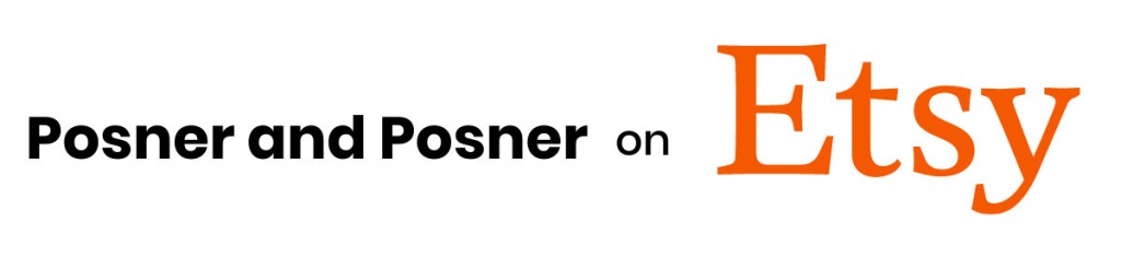 Posner and Posner Etsy shop